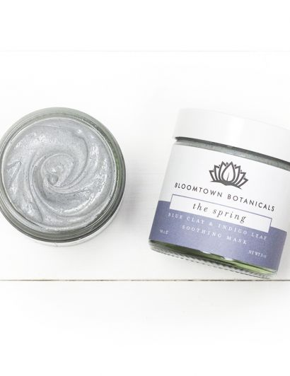 Blue Clay & Indigo Leaf Soothing Mask - Masque Argile bleue & Indigo