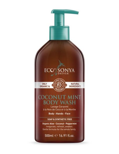 Coconut Mint Body Wash - Gel Douche Coco & Menthe