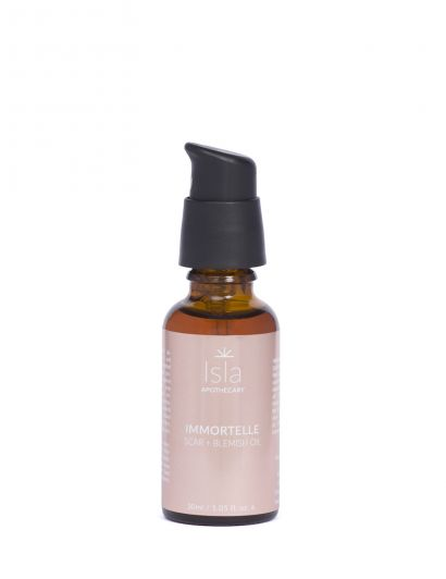Immortelle Scar + Blemish Oil - Huile Immortelle cicatrices & imperfections