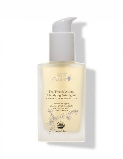 Tea Tree & Willow Clarifying Astringent - Lotion Clarifiante Arbre à Thé & Saule