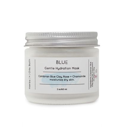 Blue Facial Mask - Masque Visage